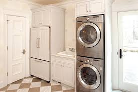 stackable washer dryer bathroom in small and master traditional with beige closet glass kitchen glamorous