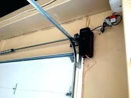 genie pro max garage door opener resetting