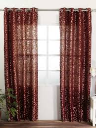 Maroon Curtains For Living Room Drop Dead Gorgeous Accessories For Window Treatment Decoration