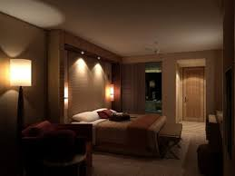 master bedroom lighting design. Unique Romantic Master Bedroom Decorating Ideas With Lowered Ceiling Lighting And Dark Brown Nuance Design I