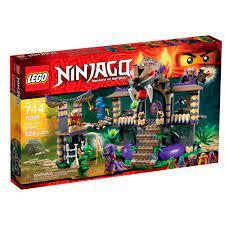 LEGO NINJAGO set with Anacondrai Temple (673419229661)