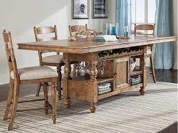 lake cabin furniture. Intercon Table 42x90 Cntr Hght Island Lake House 609185P Lake Cabin Furniture