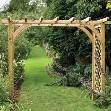 pergola garden