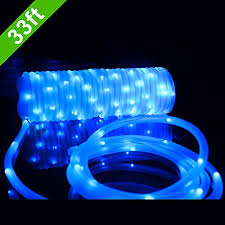 Meikee 33ft 100 LED Solar Rope LightsWaterproof Outdoor Portable Solar Rope Christmas Lights