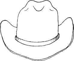 Small Picture Free Printable Cowboy Hat Coloring Pages Coloring pages for