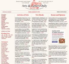real time news arts letters daily