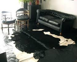 hide rugs photo 5 of 9 black hide rug 5 black and white cowhide rugs rug hide rugs