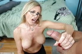 Big tits granny sexy handjob