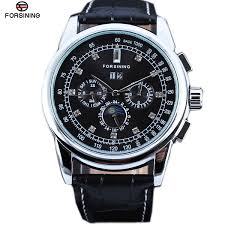 compare prices on self winding watches online shopping buy low luxury fashion automatic self wind men s watches moon phase full calendar mechanical watches uhren