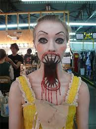 cool yet scary make up ideas l