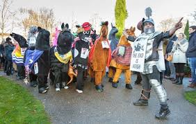 fans of panto looking for a fun family day out can watch 30 horses take to the streets in a charity race this weekend