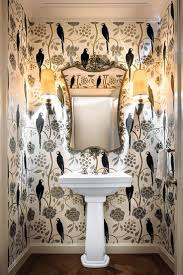 Powder Room Wallpaper 128 Best Powder Room Ideas Images On Pinterest Powder Rooms