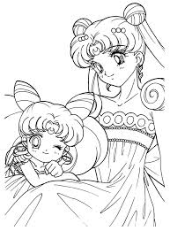 Small Picture 32 best Sailor Moon Lineart Coloring Pages images on Pinterest
