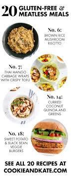 20 gluten free vegetarian dinner