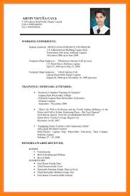 Example Of Resume For Abroad 24 Sample Resume For Abroad Application Lpn Resume 7
