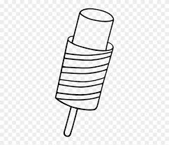 popsicle clipart black and white. Wonderful Black Dessert Popsicle Lollipop Ice Cream Food  Cream Sundae  Drawing To Popsicle Clipart Black And White O