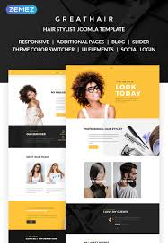 Fancy Hair Design Greathair Fancy Hair Stylist Joomla Template
