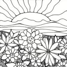 Small Picture Sunset Coloring Pages Kids Drawing And Coloring Pages Marisa