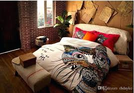 3d bedding sets king size colorful bed sheets style colorful cat horse giraffe bedding sets fashion