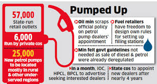 Oil Companies Plan To Add 25 000 Petrol Pumps The Economic