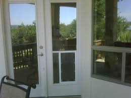 hale pet door in glass installation canyon lake