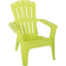 plastic adirondack chairs. Heavy-Duty Plastic Adirondack Chair, Green Chairs T