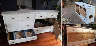cat litter box furniture diy. exellent cat diy hidden kitten litter bin and cat box furniture diy d