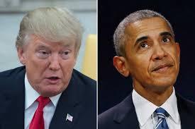 Image result for Trump/obama