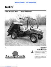 land pride treker 4400st manuals land pride treker 4400st parts manual