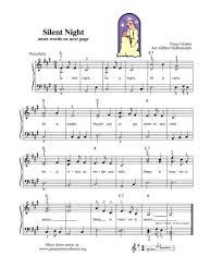 Silent Night Piano Sheet Music Pdf Free Download Printable