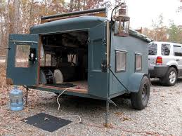 Small Picture Homemade DIY Camper Trailer Made From Recycled Stuff Diy camper