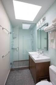 small modern bathroom. Bathroom:White Scheme Small Modern Bathroom Design Ideas With Chrome Towel Hanger Also Brown Wooden E