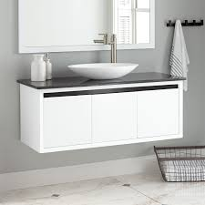 cottee wallmount vessel sink vanity  bathroom