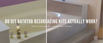 do diy bathtub resurfacing kits actually work