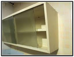 brilliant sliding glass cabinet doors intended for kitchen wall cabinets home design ideas decor 11