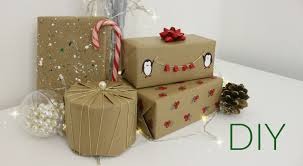 DIY Christmas Wrapping Paper Ideas | Jtru - YouTube