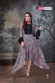 Designer Kurtis Collection Femigrace Vol 1 Rayon Designer Gown Kurtis Collection Online