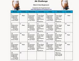 The 30 Day Ab Challenge For Beginners