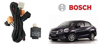 buy bosch car h4 headlight wiring harness fuse kit 276 honda