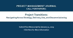 project management journal sage journals more