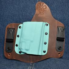 Crossbreed Light Defender 16025 Crossbreed Light Defender Glock 17 19 With Streamlight Tlr 8 Right Hand Founders Leather Tiffany Blue Pocket