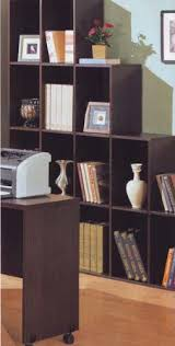 office bookshelf. Coaster Contemporary Home Office Cube Bookcase Display Shelves Office Bookshelf