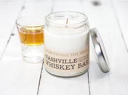 nashville whiskey bar wood wick candle