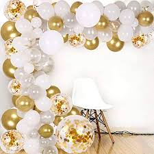 Posted in birthdaytagged simple birthday decoration with balloons, simple birthday decoration with balloons at home. Amazon Com Diy Balloon Arch Garland Kit 138pcs Party Balloons Decoration Set Gold Confetti Silver White Transparent Balloons For Bridal Baby Shower Wedding Birthday Graduation Anniversary Party Toys