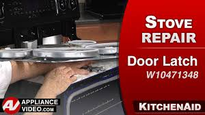kitchenaid whirlpool oven door latch repair