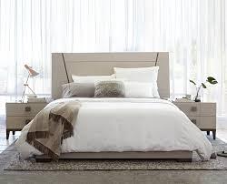 Scandinavian Bedroom Furniture Monchiaro Bed And Nightstands From Dania Furniture Co Modern