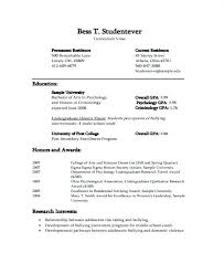 Graduate Student Resume Templates Student Resume Graduate Student