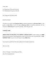 Job Letter From Employer Confirming Employment Letter Of Employment Template Employer Letter Sample Employment