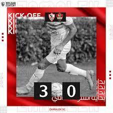 "Zamalek SC's tweet - ""⏱| بداية الشوط الثاني ⚽️ الزمالك ٣ 🆚 ٠ غزل المحلة # Zamalek #MostTitledIn20C | #الزمالك "" - Trendsmap"