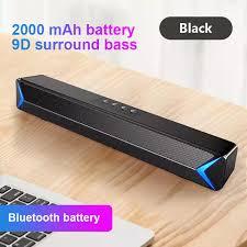 Loa Thanh Âm Thanh Mini Skatolly Bluetooth TV 5.0 Loa Thanh Stereo Hi-fi Âm  Thanh Vòm Gia Dụng Không Dây AUX USB Cho PC TV Điện Thoại Di Động Máy Tính  Xách